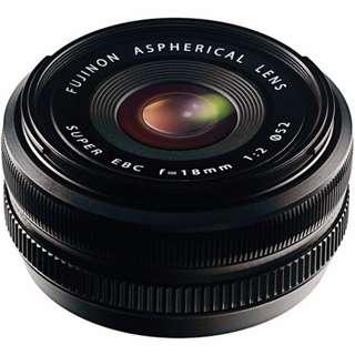 🛒Fujifilm 18mm F2.0 XF R Lens for X Mount Camera