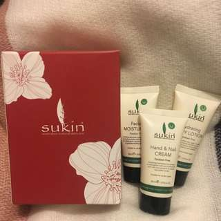 Sukin Cream Set