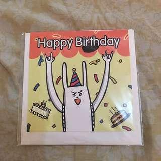 Happy birthday Card!! From Korea