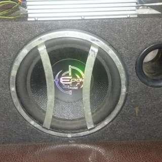 重低音+擴大機