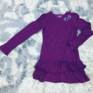 Oshkosh BGosh Long Sleeve Dress for Girl size 8