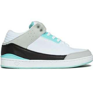 Diamond Supply Co. Marquise High Top in White/Diamond Blue
