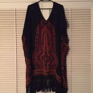 Band Of Gypsies Dress -hippy/boho Dress