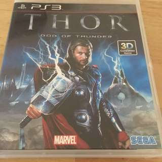 Thor God Of Thunder For Sony PlayStation3 PS3