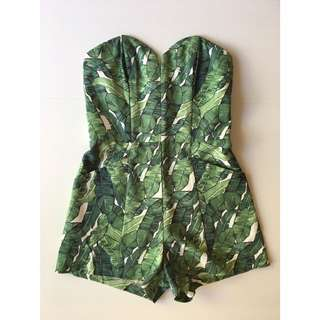 Tropical Playsuit 36/S