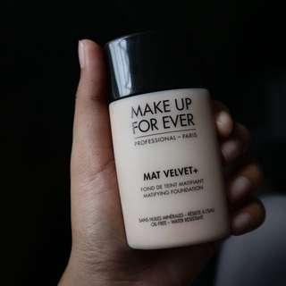 Foundation MUFE Mat velvet