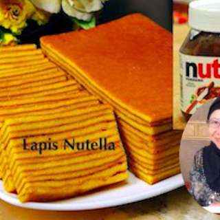 Kek Lapis Nutella