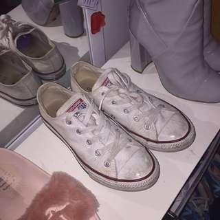 Converse All Stars - White Size US 3
