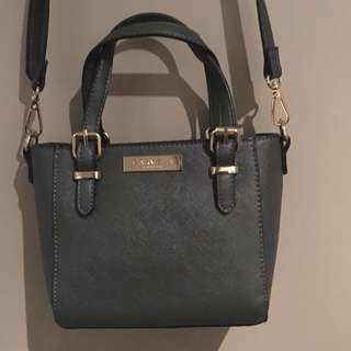 Carvela Micro Winged Tote Across Body Bag