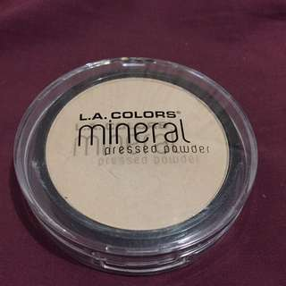 REPRICE RP 40.000 L.A. COLORS MINERAL PRESSED POWDER