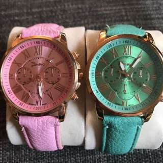 Two Gorgeous Funk Style Watches