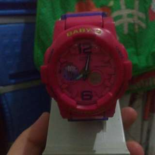 Baby G Casio Analogue Watch