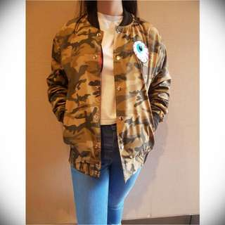 Bomber Jacket (Size Fit to M)