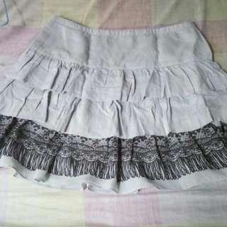 Preloved Light Gray Skirt