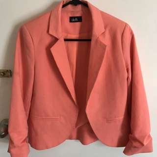 Size 6 Peach Jacket