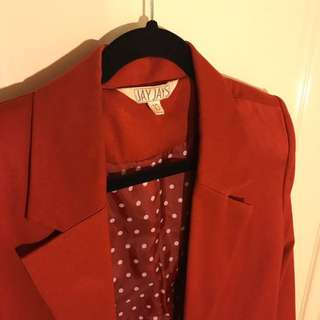 Blood Orange Blazer