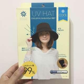 (免運)全新日本帶回 涼感防曬帽