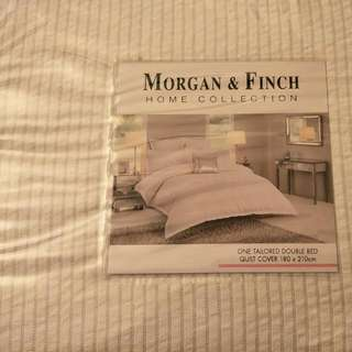 Morgan And Finch Double Bed Cover Brand New