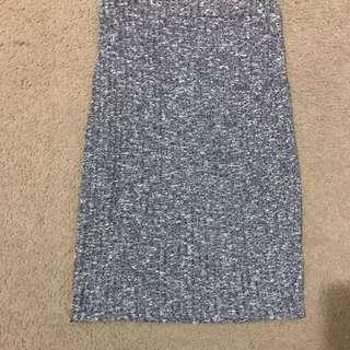 Cotton On High Waisted Pencil Skirt