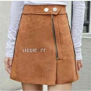 Skirt Korean Suede
