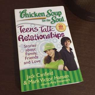 Chicken Soup For The Soul: Teens Talk Relationships (English)