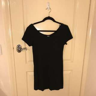 Black Short Fitted Dress
