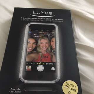 Brand New In Box LuMee Smartphone Case For I Phone 6
