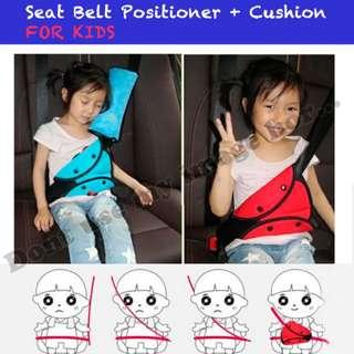 Seat Belt Positioner + Cushion (per set)