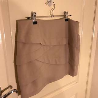 Forecast Beige Skirt