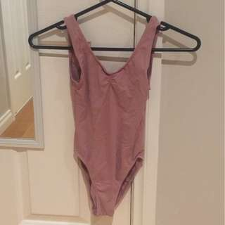 Bloch leotard dusty pink