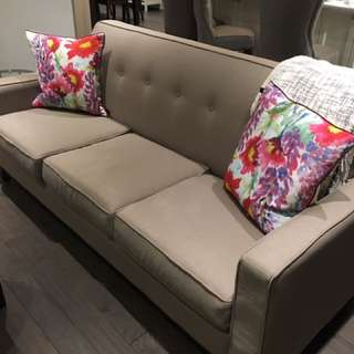Grey couch!