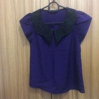 purple blous