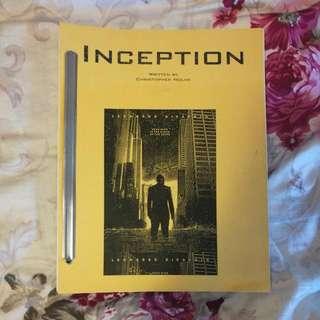 Inception Screenplay (J)