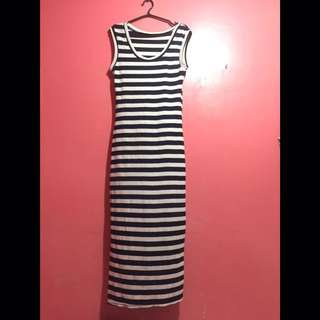 Casual Stripes Dress