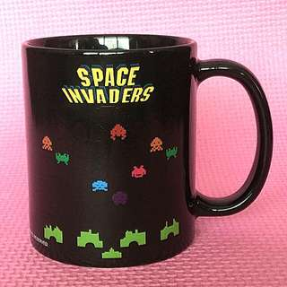 Space Invaders 12oz. Heat Reactive Mug