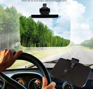 SD-2305 大型抗UV防眩遮陽板(L) 大視野遮陽板 防眩鏡 SUV防炫目鏡 商務車護目鏡