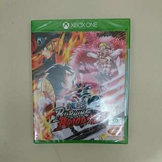 Xbox One - 全新 One Piece Burning Blood