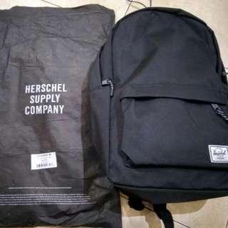 Ori & Authentic Herschel Mid-Volume Classic Backpack - Black