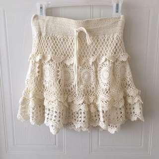Forever 21 Crochet Skirt