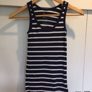 Gap Stripes Sleevless Top