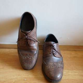 Brown Brogues Bespoke (Marikina) Pure Leather