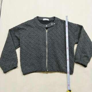 寬鬆格紋外套 #300元外套