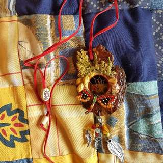 Bark Art Necklace