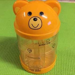 熊貓動物儲金桶(日本制)