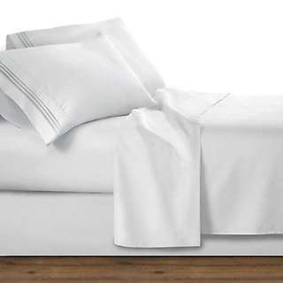 1800 Collection 4 Piece Deep Pocket Microfiber Bed Sheet Set - Twin