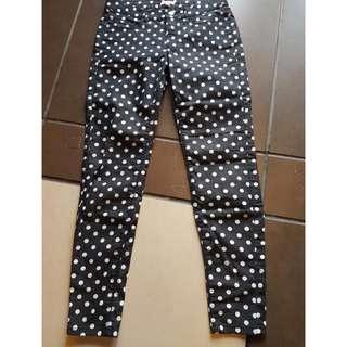 Jeans Polkadot Et Cetera Size 4