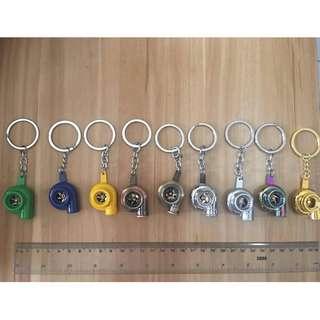 Auto Car Motor Keychain Metal Alloy
