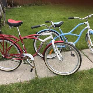 RED AND BLUE CRUISER SUPERCYCLE