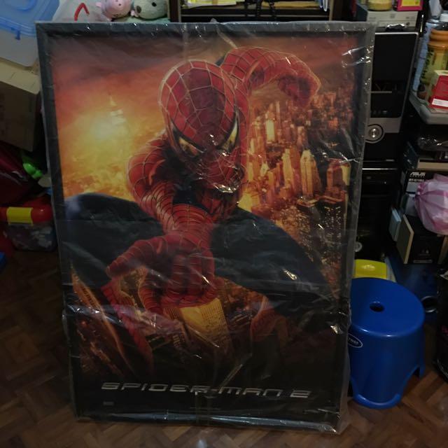 蜘蛛人2電影海報