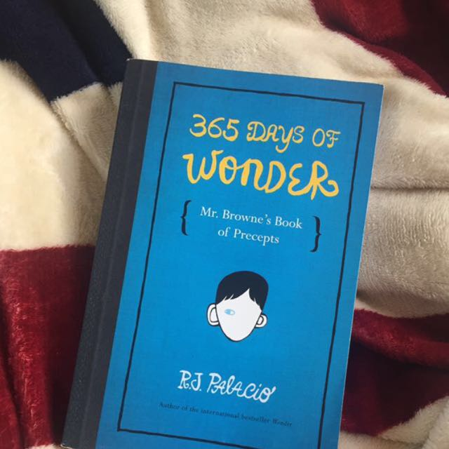 365 DAYS OF WONDER BY RJ PALACIO